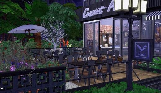 【鲁班组】【阿久原创】【咖啡馆】城市转角(30×30,NOCC)