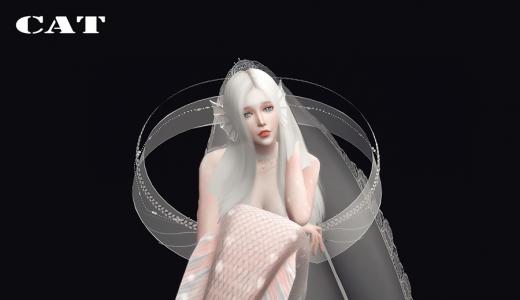【那只折耳猫。】公主风人鱼公主--海岛DLC--人鱼形态