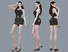 【北城出品】wild babes body preset| 狂野女孩|动漫级魔鬼身材预设