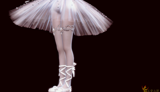 闪耀卵卵  璀璨之约  芭蕾舞小裙纸