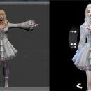三宫六院《模拟人生4》MOD制作教程微深入·衣服制作——外部模型制衣篇