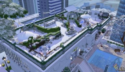 分享一個NOCC的樓頂花園房40×30