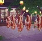 模拟人生/古风舞蹈《红昭愿》视频/MMD舞蹈