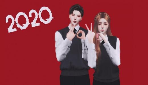 【Q&Y原创动作】Qian&KH合作系列07——(2020新年礼物)——