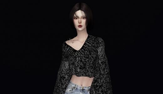 【Dois】喜欢穿牛仔裤的韩系小姐姐
