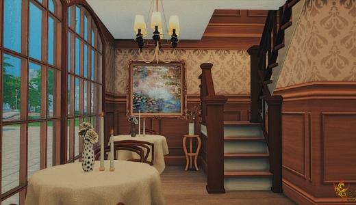 【鲁班组】【燕子原创】——网红打卡一条街之复古风餐厅(含cc)