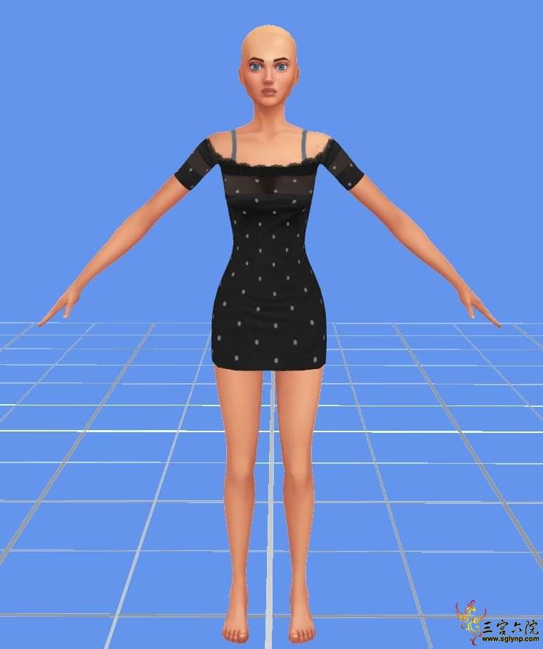 终于解决了大黑眼和全民一张大丑脸问题(附问题mod) - 模拟人生4 综合区 - 三宫六院 - 模拟人生 模拟人生3 ...