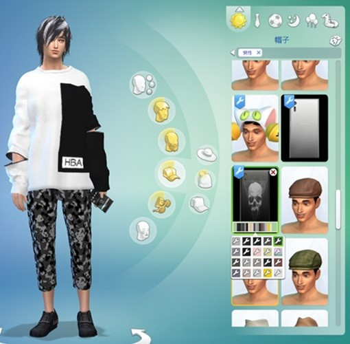 [MOON]Sims4-Phone-Sony XZ-77 Accessories.jpg