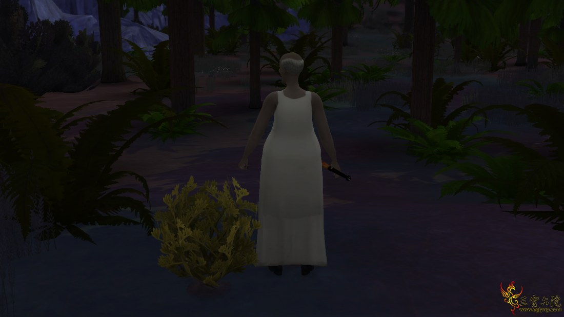 模拟人生4仿建恐怖游戏:奶奶中的奶奶(含微量CC)。