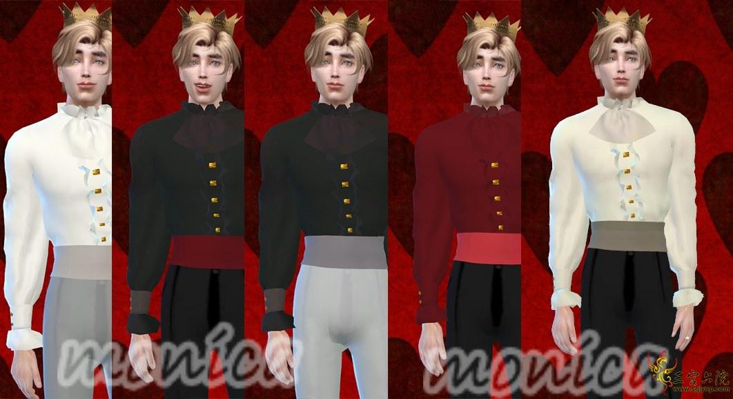 第一次男装作品,童话王子or吸血鬼风?