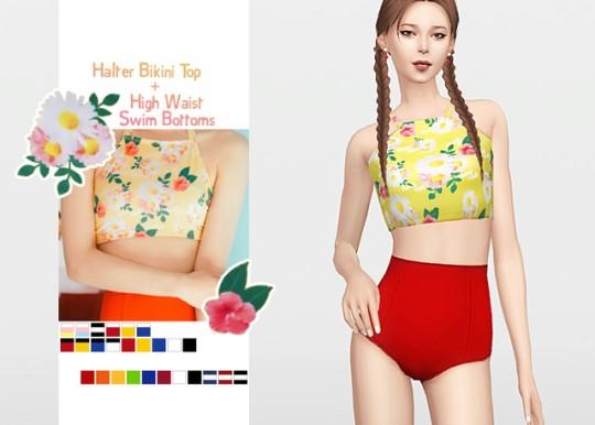 [WAEKEY] Halter Bikini.png