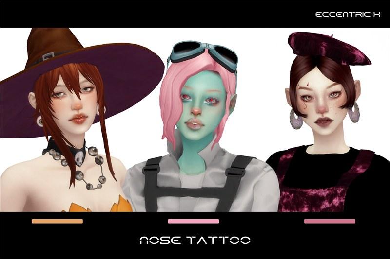 【ECCEN】自制可可爱爱(?)的鼻子纹身