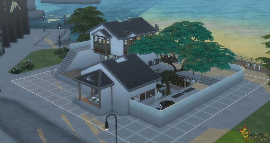 眷海——简单随意的拥有下沉式庭院的和风现代小宅 NOCC 30X30