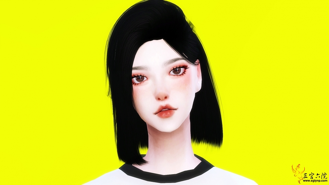 一个韩风的小姐姐