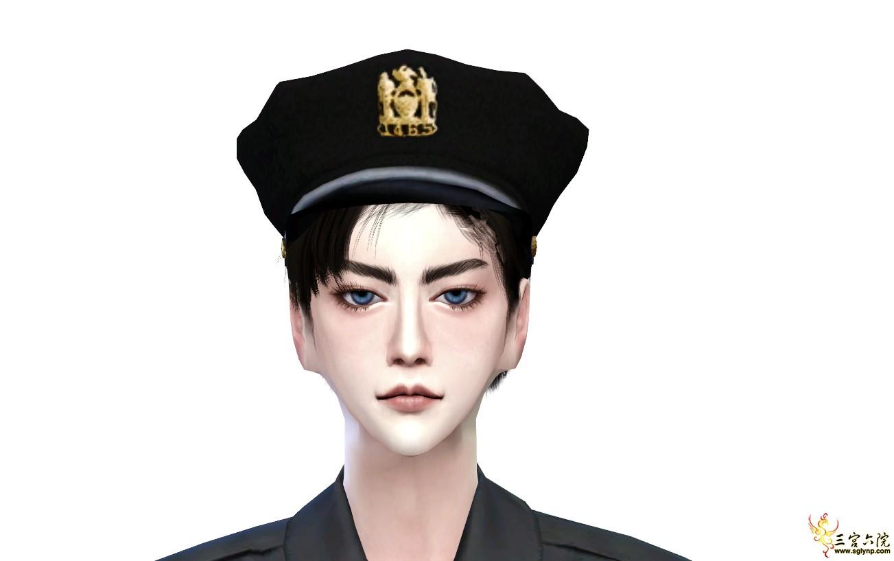 【肥团人物】帅气尽职的警察小哥你喜欢吗?可领币