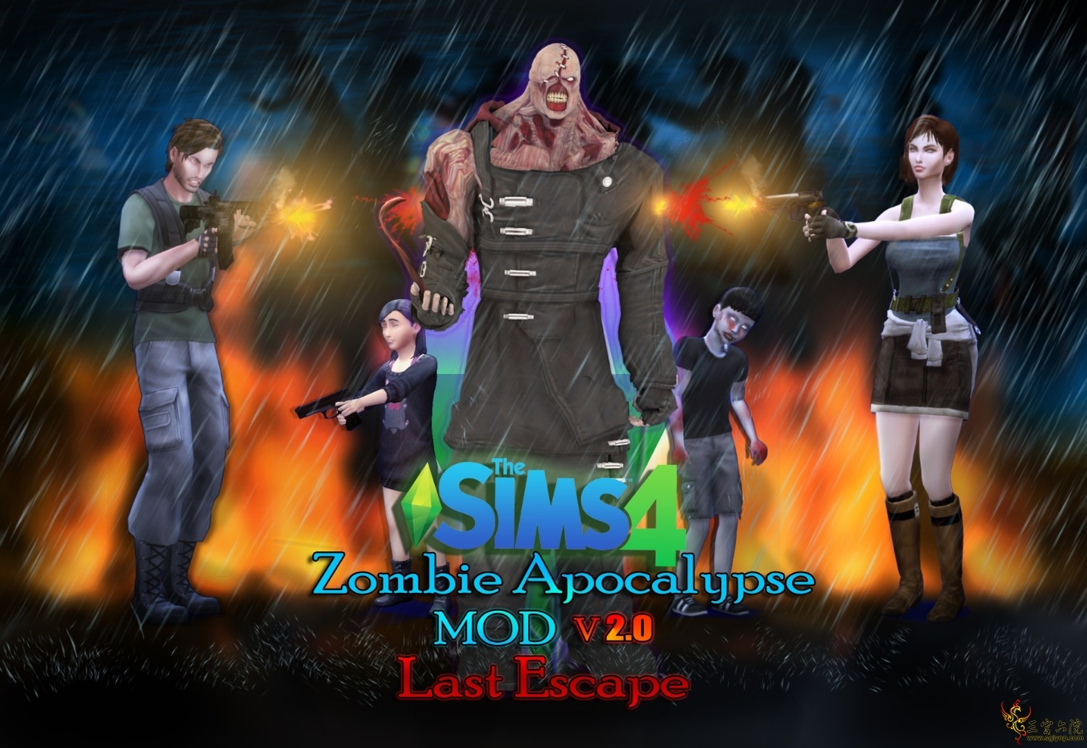 Zombie Apocalypse -MOD- v2.0 Thumbnail background.jpg