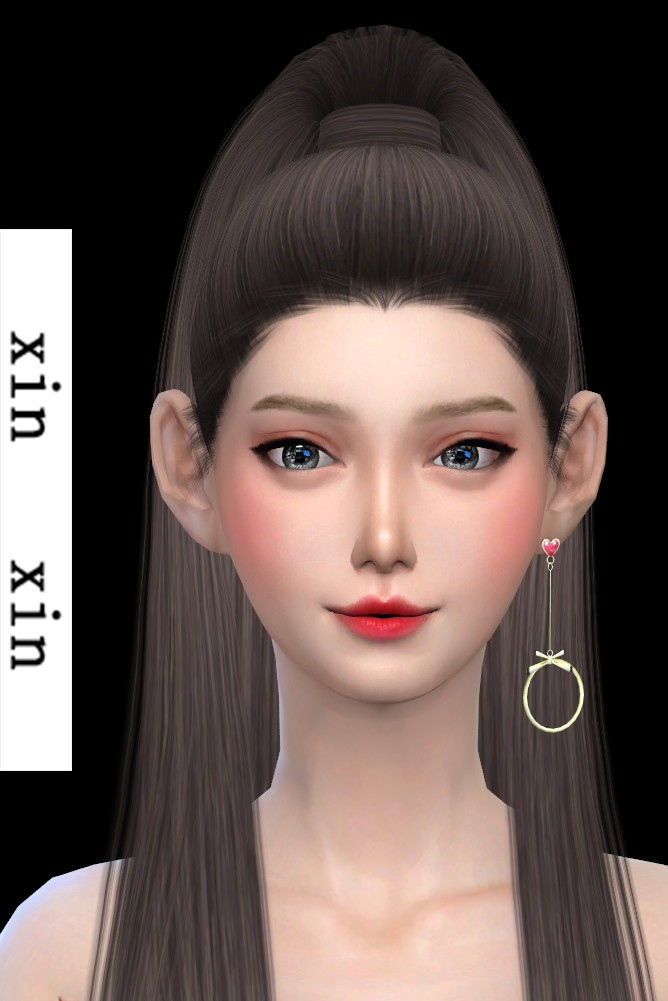 [xinxin]long Left Earrings.png