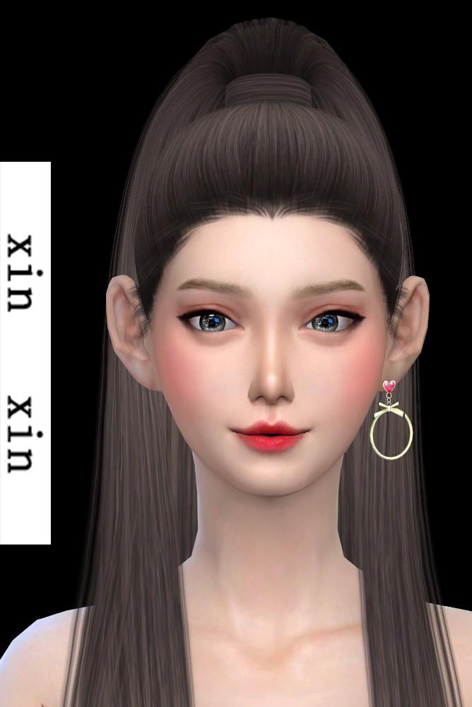 [xinxin]short Left Earrings.png
