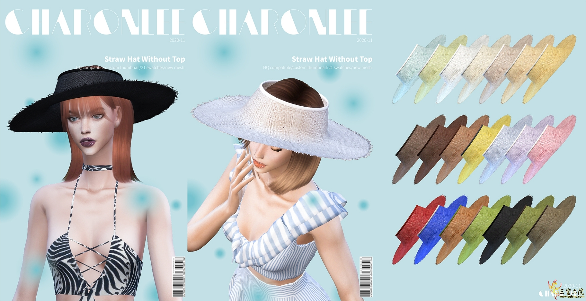 [CHARONLEE]2020-057-Straw Hat Without Top.jpg