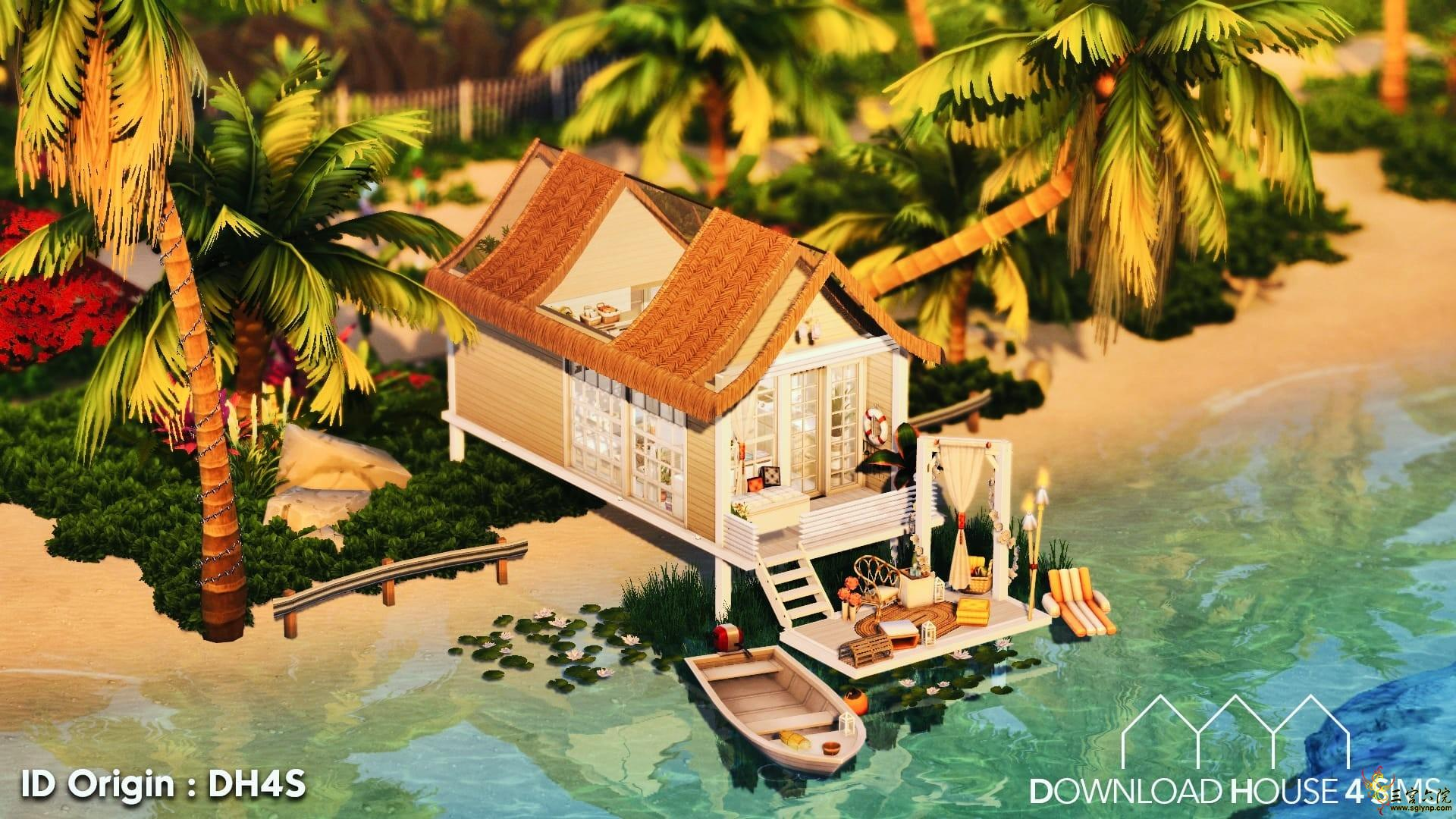 e04edcf0883154da745e0f818af00788_Download-House-4-sims-Tiny-beach-cabin-house-2.jpg