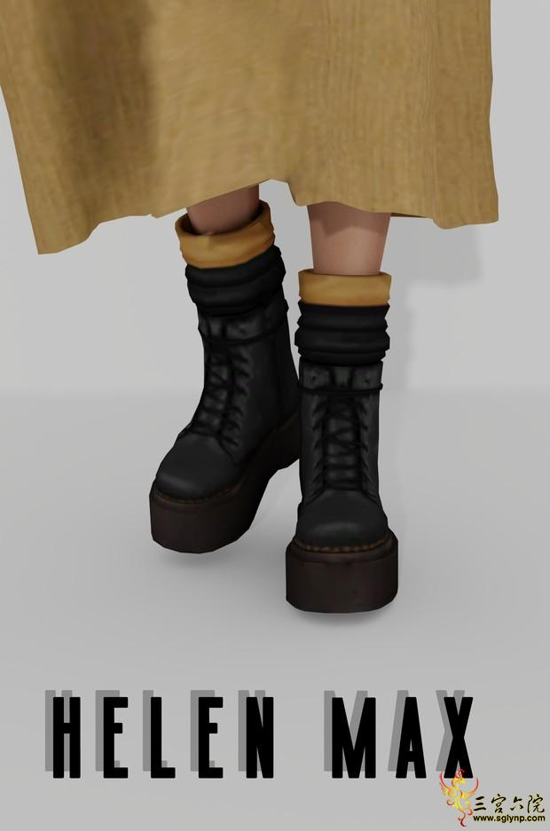 Helen Max_Black and yellow shoes.png