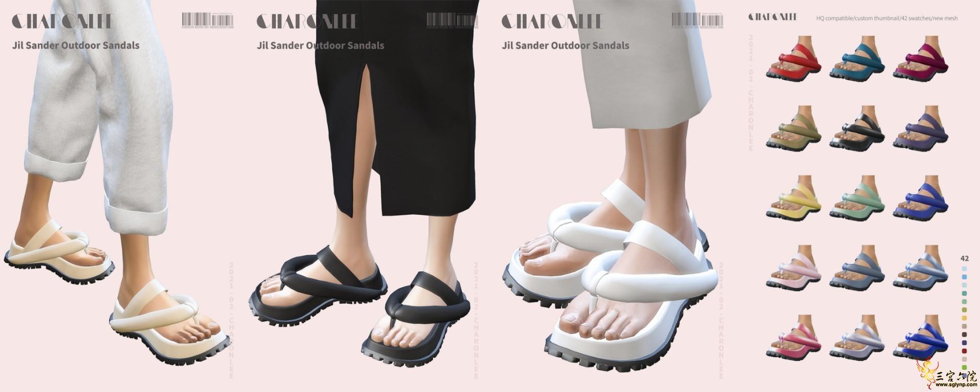 [CHARONLEE]2021-012-Jil Sander Outdoor Sandals.jpg