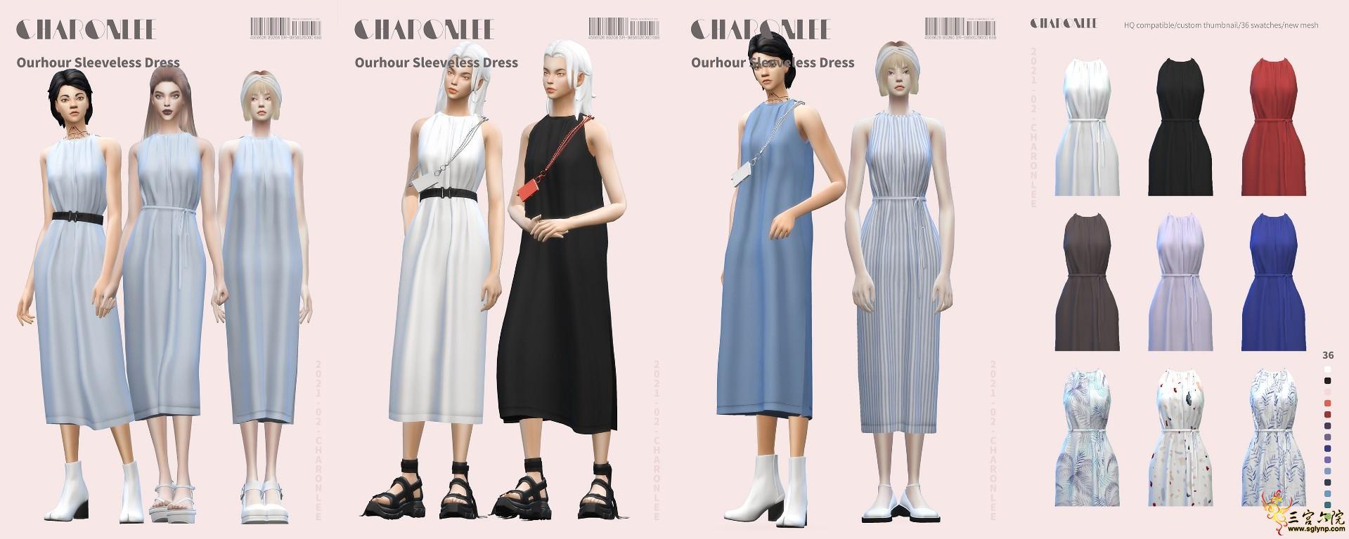 [CHARONLEE]2021-016-Ourhour Sleeveless Dress.jpg