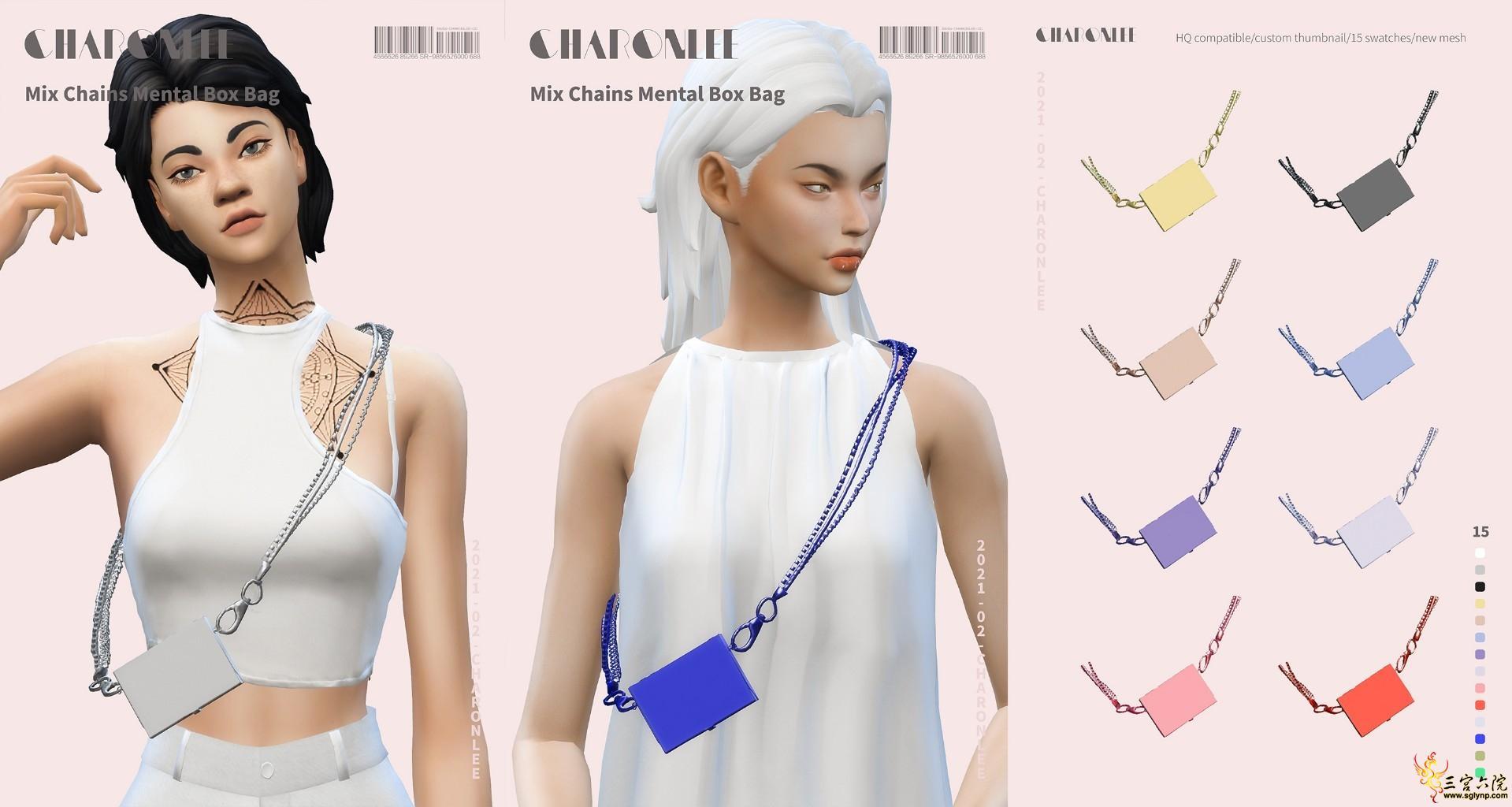 [CHARONLEE]2021-017-Mix Chains Mental Box Bag.jpg