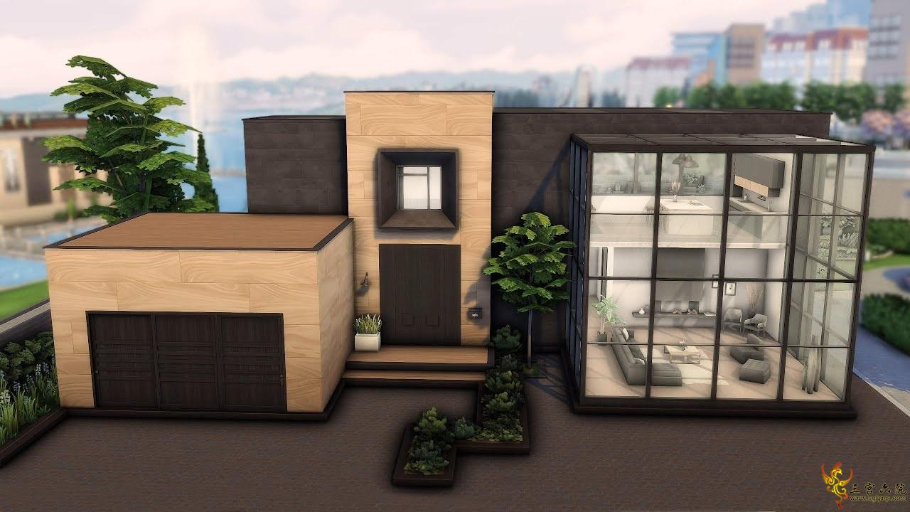 【外搬房屋】现代立方体房子-Eva Rotky-30x30-NOCC│模拟人生4速建