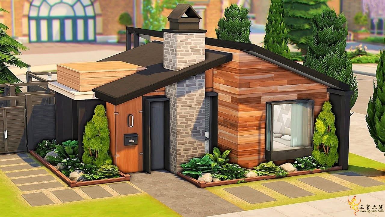 【外搬房屋】影响者的小房子-Aveline-20x15-NOCC│模拟人生4速建