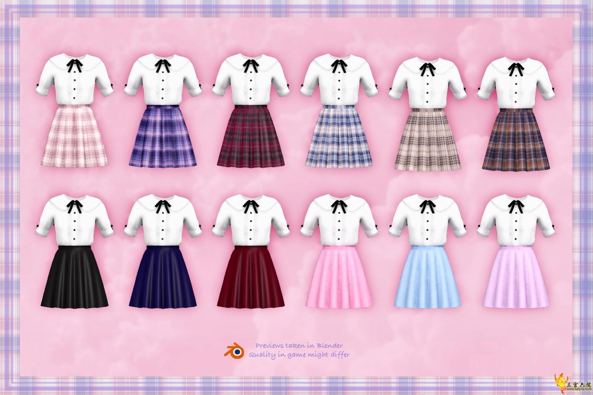 【兔丸】Ayane~本來想做常服結果看起來像制服?(回帖領幣)