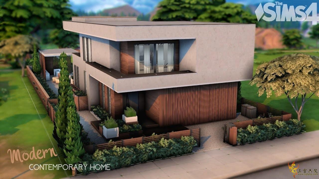 【外搬房屋】当代家居-Tija-40x30-NOCC│模拟人生4速建