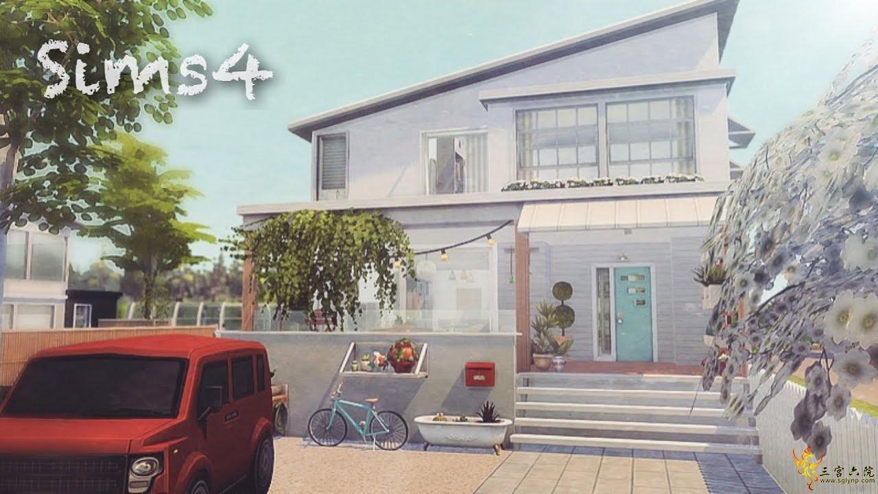 【外搬房屋】住みたい家#3-TKSims-30x20-NOCC│模拟人生4速建
