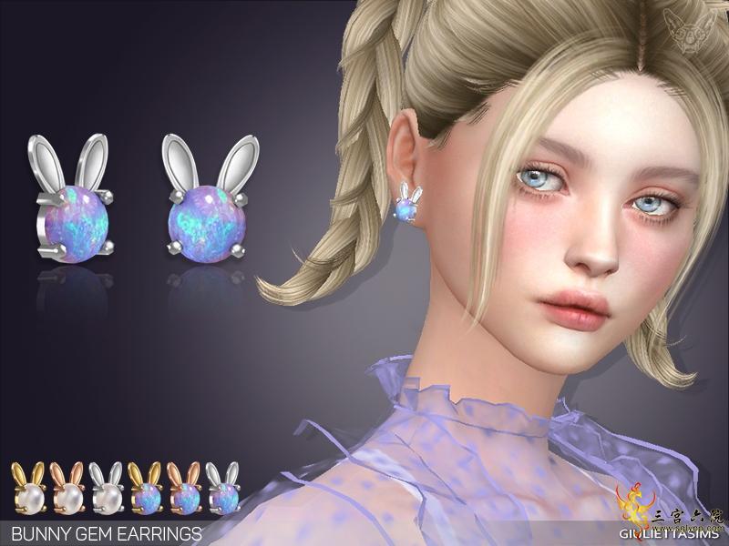 bunny gem easter earrings sims 4.jpg