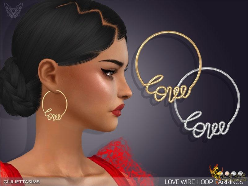 love wire hoop earrings sims 4.jpg
