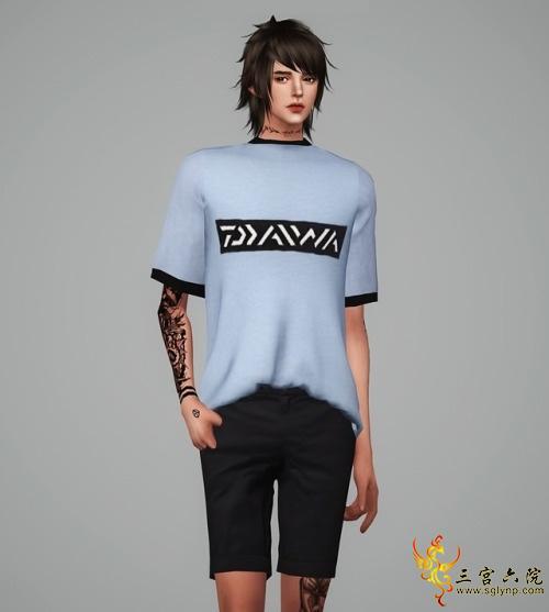 Meeyou M short sleeves tee1.jpg