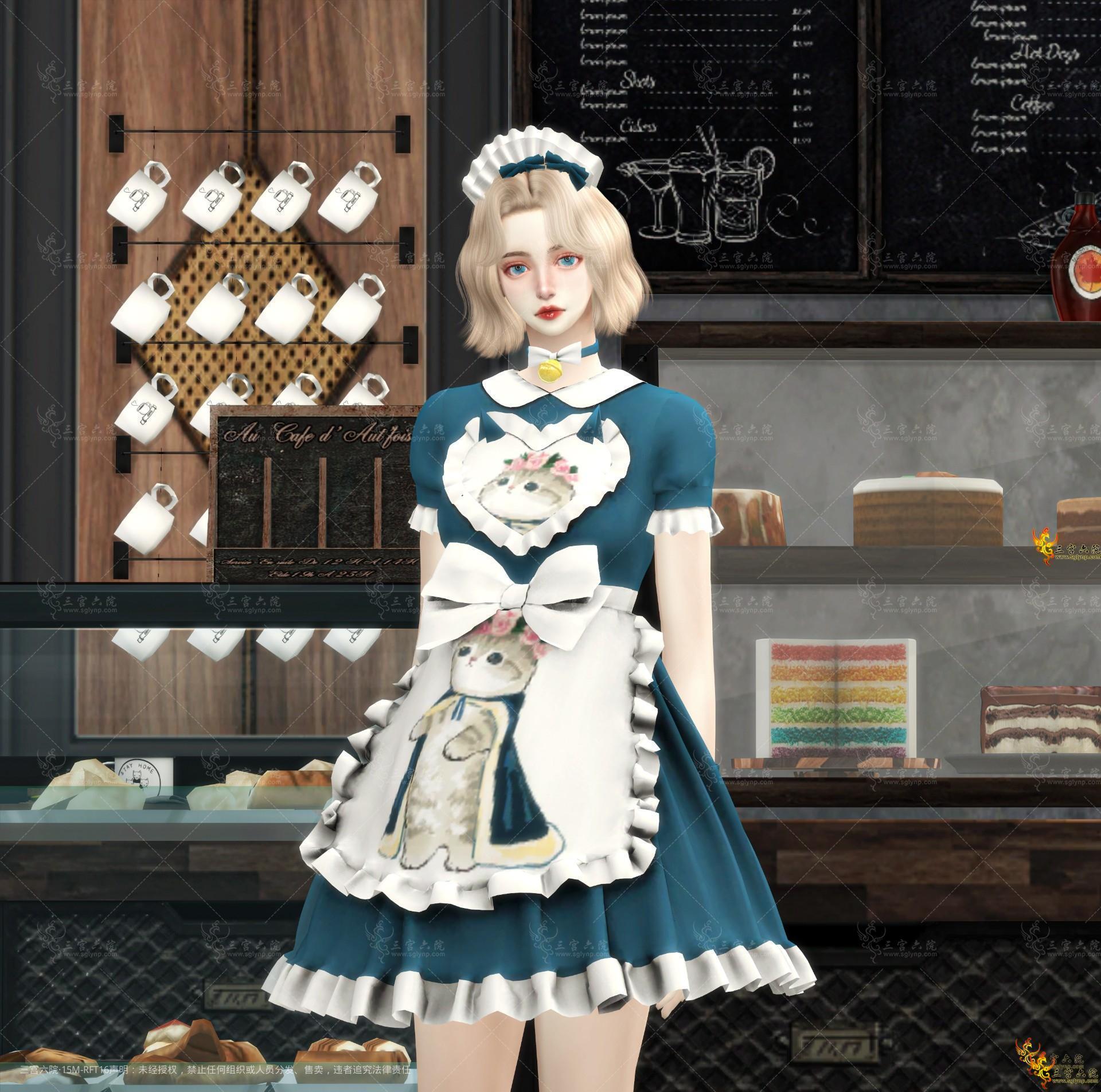 【Xsims】女仆猫套装