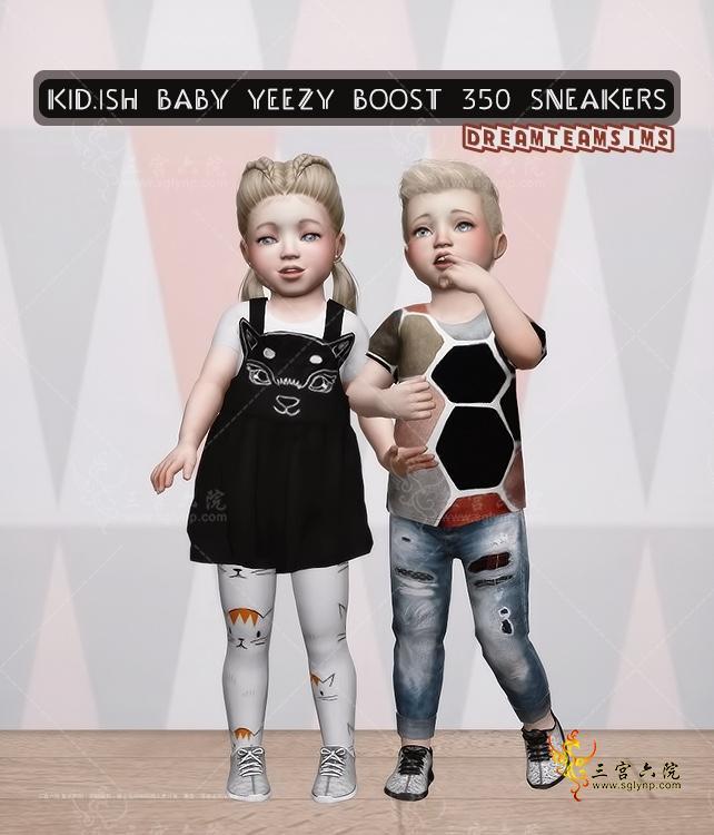 [dreamteamsims] KIDish Baby Yeezy Boost 350 Sneakers.png