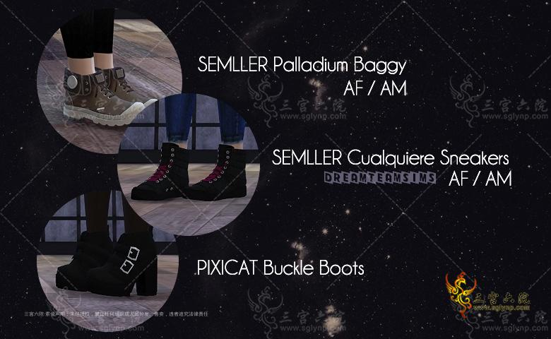 [dreamteamsims] Pixcat Buckle Boots.png
