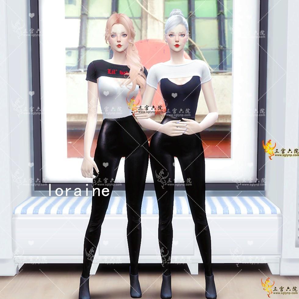 【loraine】凹凸有致——女性自然身体预设