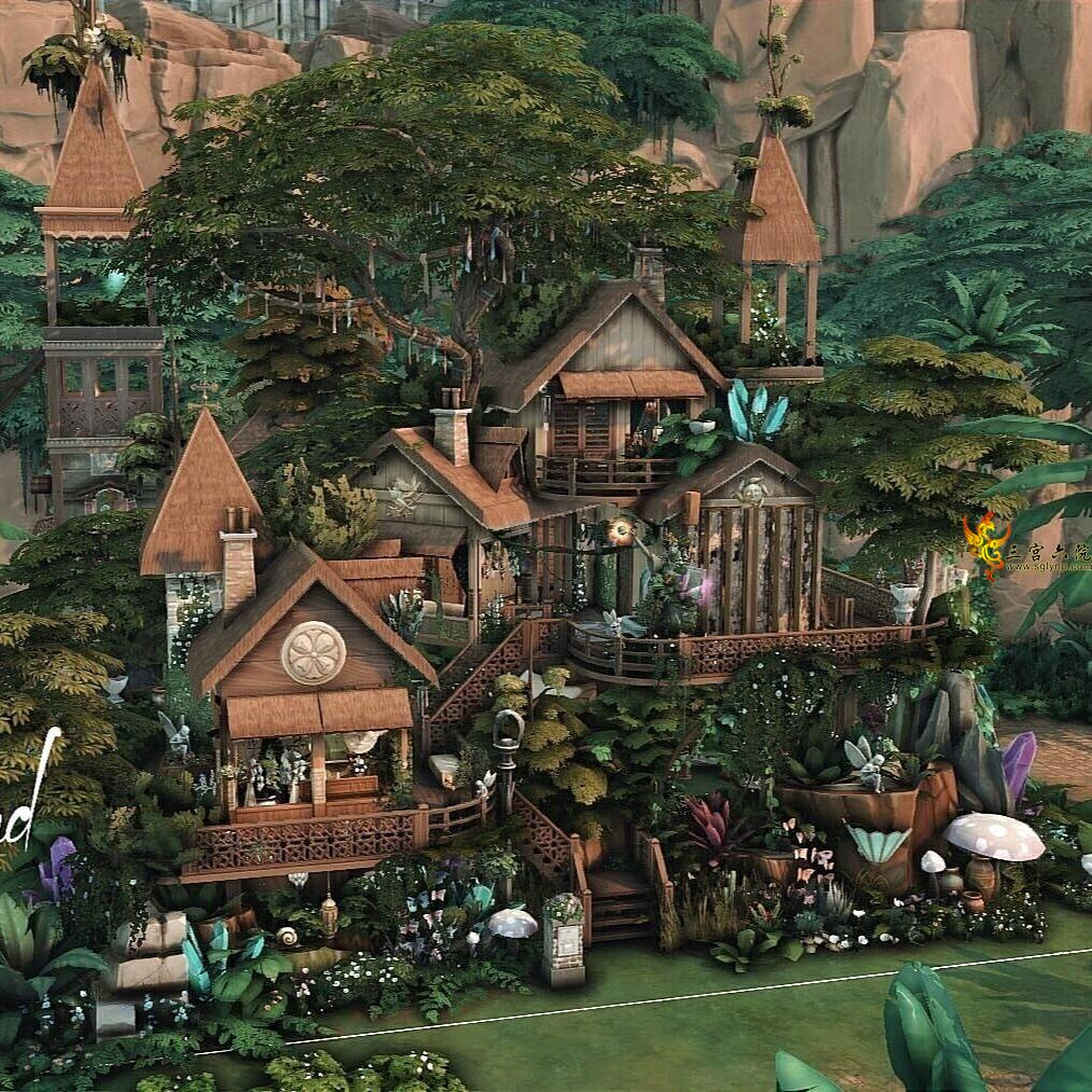 【不捏】NOCC房屋 仙境之森失落的精灵树