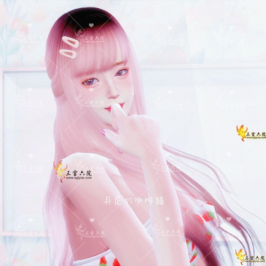 【loraine】是个甜妹!漫画脸甜系全脸预设(眼/鼻/嘴/下巴),共4件