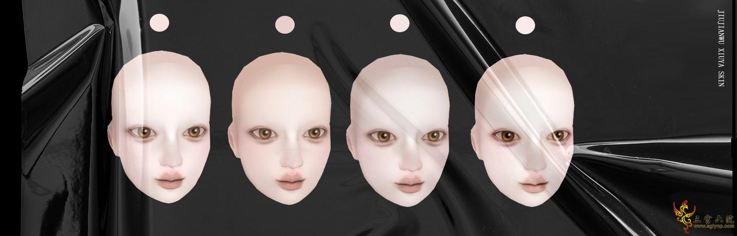 "【JIUJIANWU】""XIUYA SKIN"" 脸部皮肤 三件套版【免费领取试用】"