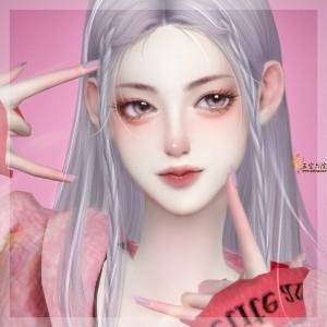 【包子】shining 明艳少女全脸预设(5个)(10.16更新)