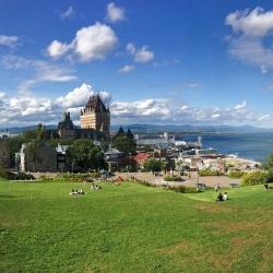 【舒舒与名胜古迹】跟随鬼怪去看看美丽的古城——魁北克城