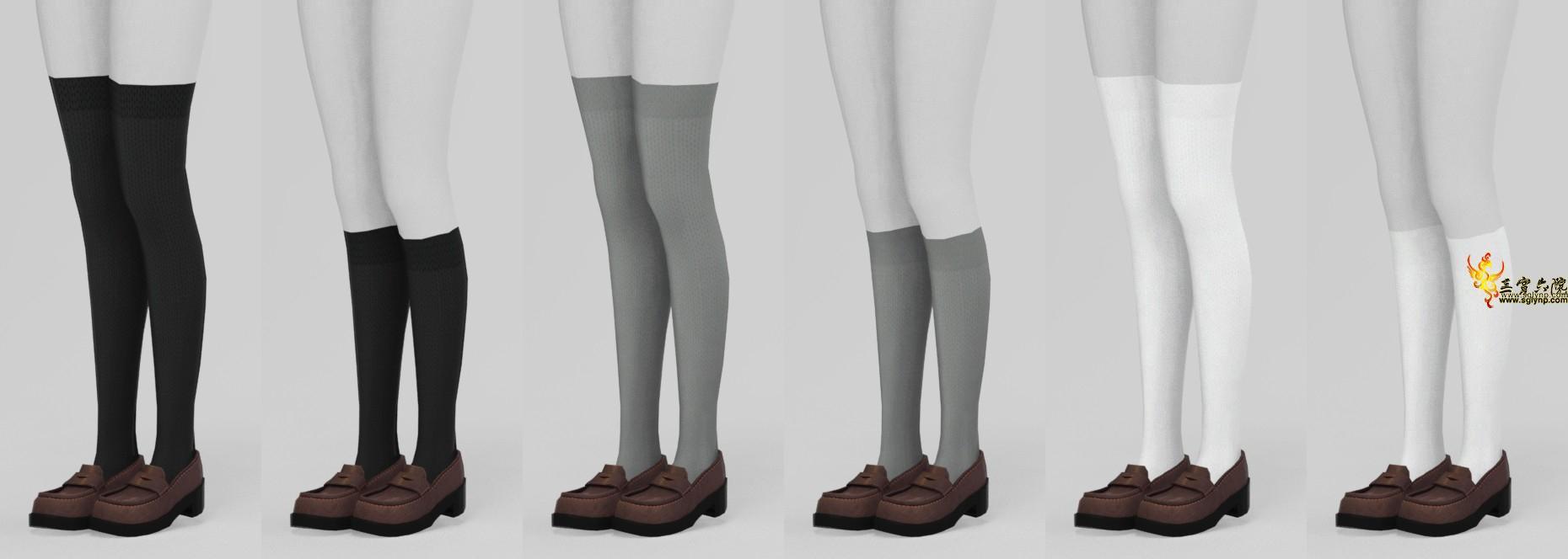 【穹】制服+袜子