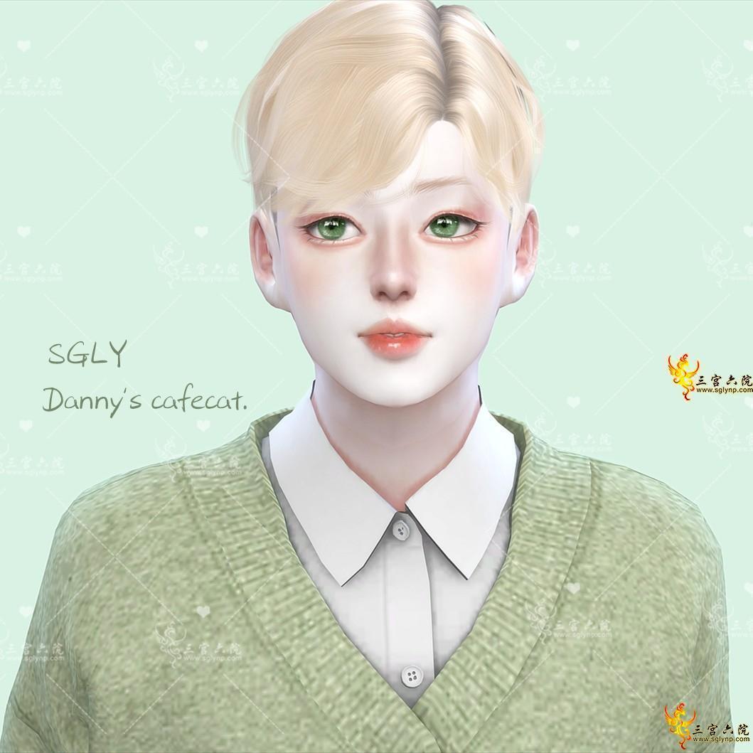 【咖啡猫-预设】│奶呼呼的幼齿少年✈预设套装(8件入)